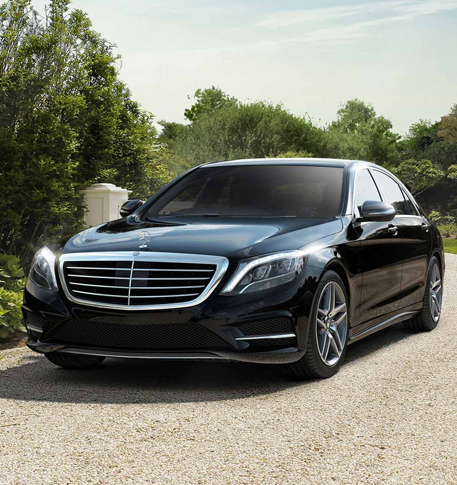 Mercedes Benz s550 limo